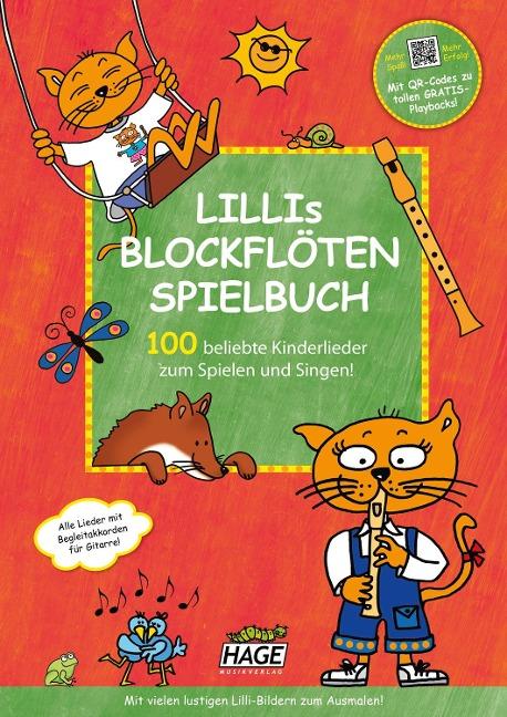 Lillis Blockflöten Spielbuch mit CD -