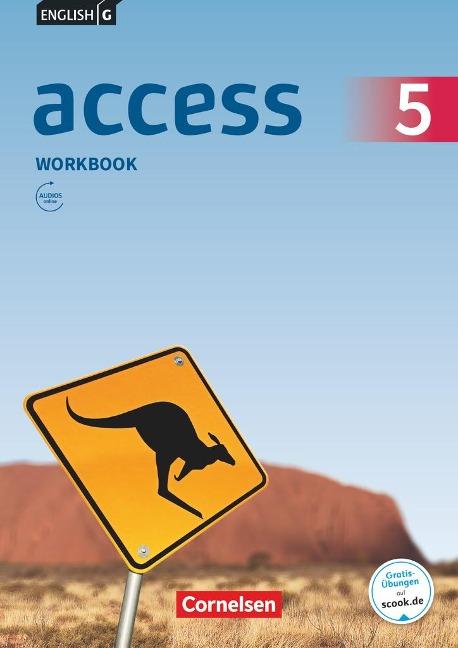English G Access Band 5: 9. Schuljahr - Allgemeine Ausgabe - Workbook mit Audios online - Jennifer Seidl, Eleanor Toal
