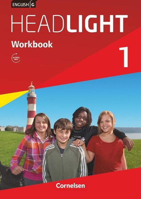 English G Headlight 01: 5. Schuljahr. Workbook mit Audios online - Gwen Berwick