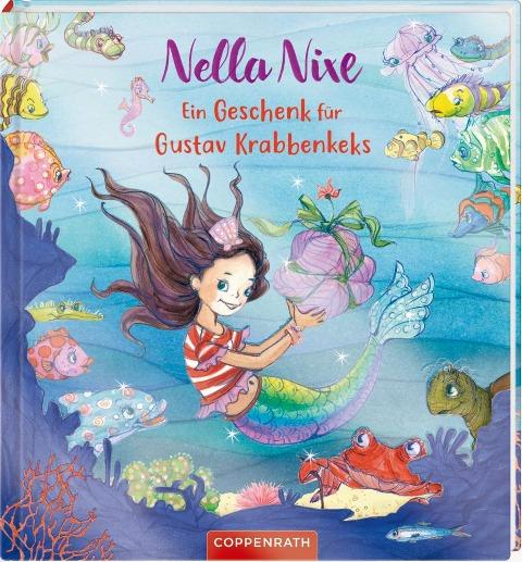 Nella Nixe: Ein Geschenk für Gustav Krabbenkeks - Monika Finsterbusch, Nicola Berger
