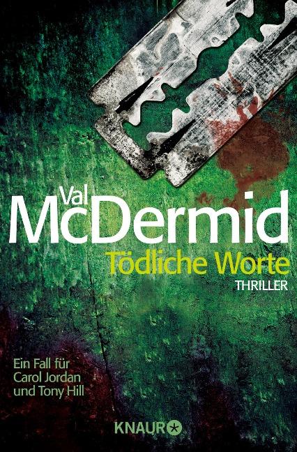 Tödliche Worte - Val McDermid