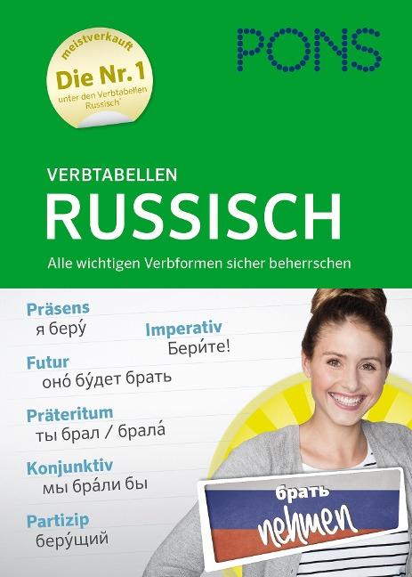PONS Verbtabellen Russisch -
