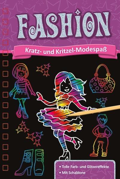 Kratzbuch. Fashion -