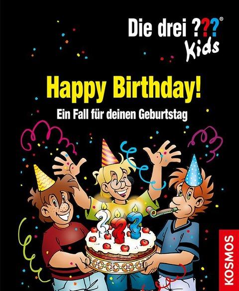 Die drei ??? Kids. Happy Birthday! (drei Fragezeichen) - Boris Pfeiffer