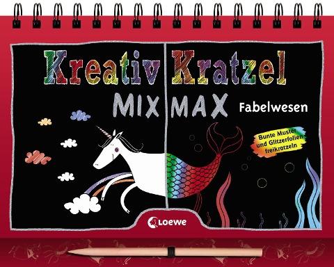 Kreativ-Kratzel MIX MAX - Fabelwesen -
