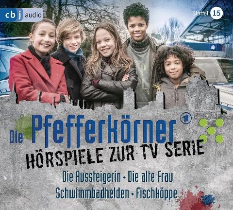 Die Pfefferkörner - Hörspiele zur TV Serie (Staffel 15) - Anja Jabs, Martin Nusch, Franca Düwel, Silja Clemens