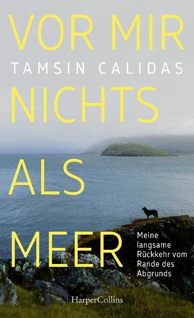 Vor mir nichts als Meer - Meine langsame Rückkehr vom Rande des Abgrunds - Tamsin Calidas