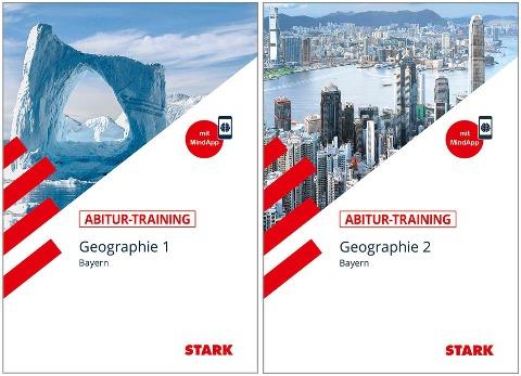 STARK Abitur-Training - Geographie Band 1 + 2 Bayern -