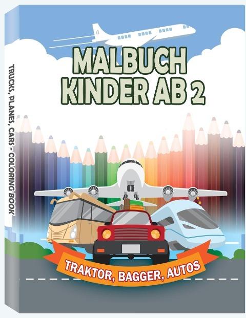 Malbuch Kinder ab 2 - Only1million