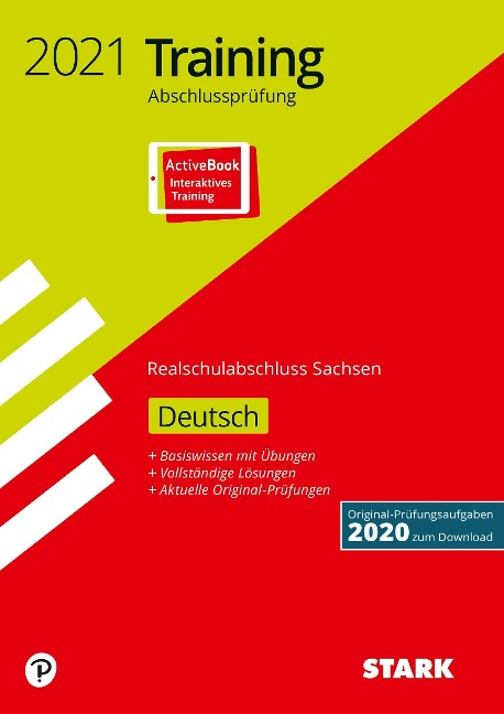 STARK Training Abschlussprüfung Realschulabschluss 2021 - Deutsch - Sachsen -