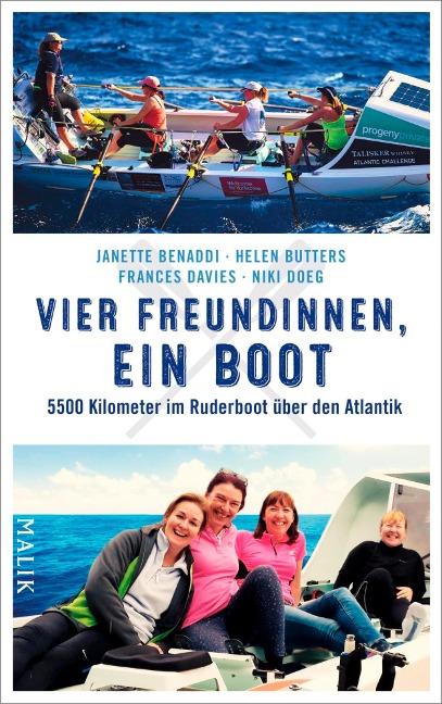 Vier Freundinnen, ein Boot - Janette Benaddi, Helen Butters, Niki Doeg, Frances Davies