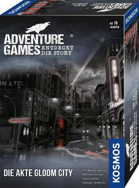 Adventure Games - Die Akte Gloom City -
