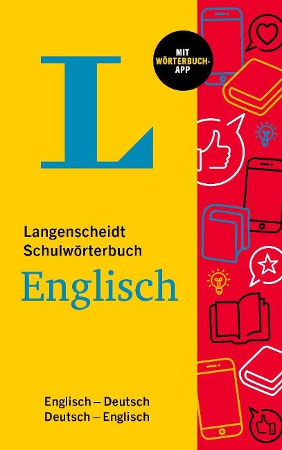 Langenscheidt Schulwörterbuch Englisch -
