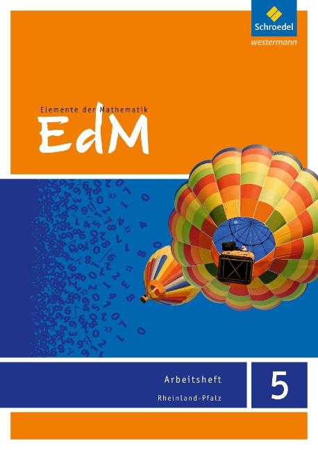 Elemente der Mathematik 5. Arbeitsheft. Rheinland-Pfalz -