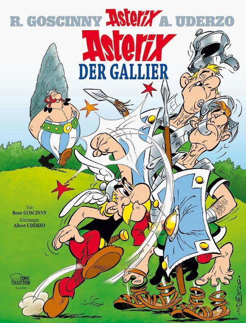 Asterix 01: Asterix der Gallier - René Goscinny, Albert Uderzo