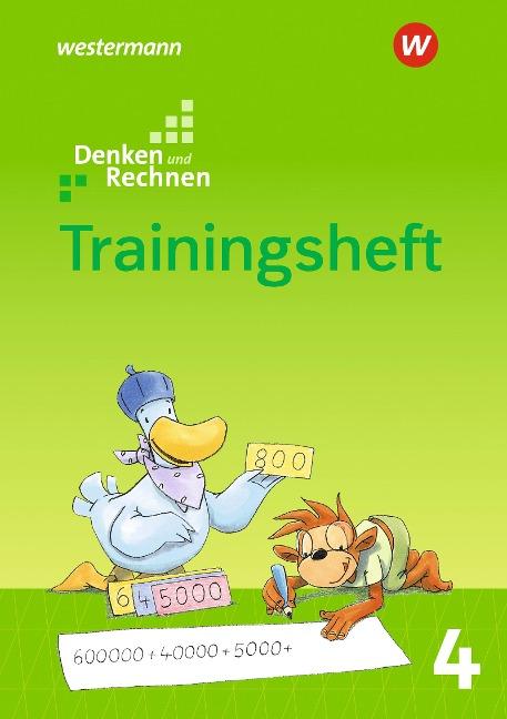 Denken und Rechnen 4. Zusatzmaterialien. Trainingsheft -