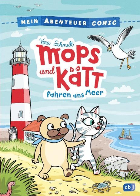 Mein Abenteuercomic – Mops und Kätt fahren ans Meer