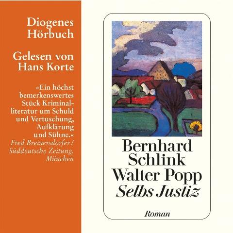 Selbs Justiz - Walter Popp, Bernhard Schlink