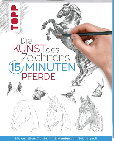 Die Kunst des Zeichnens 15 Minuten - Pferde - Frechverlag