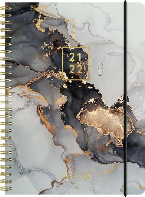 "BRUNNEN 1072156082 Schülerkalender 2021/2022 (18 Monate) ""Gemstone"", A5, PP-Einband -"