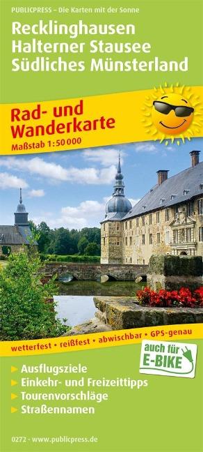 Recklinghausen - Halterner Stausee - Südliches Münsterland 1:50 000 -