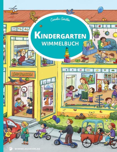 Kindergarten Wimmelbuch -