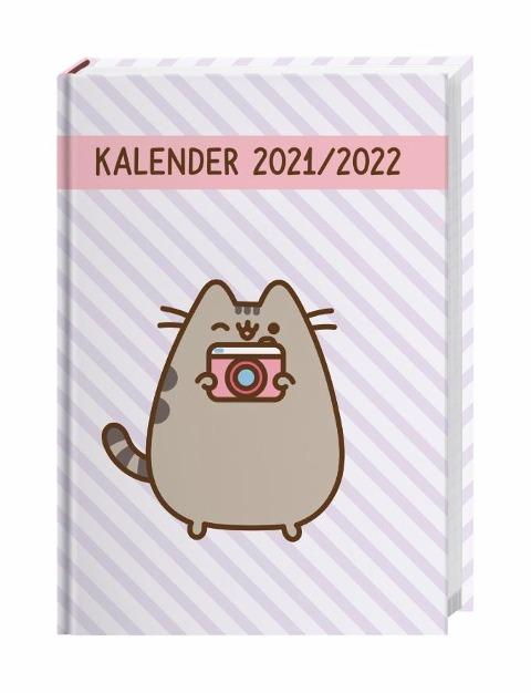 Pusheen 17-Monats-Kalenderbuch Kalender 2022 -