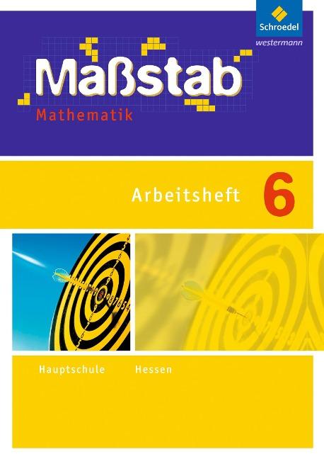 Maßstab Mathematik 6. Arbeitsheft. Hessen -