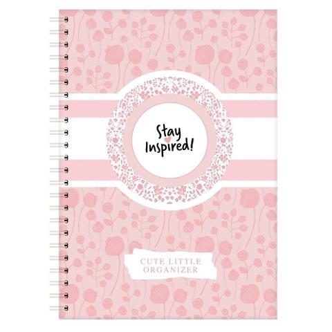 Terminplaner, Wochenplaner, Terminkalender , DIN A5 Wochenkalender und Taschenplaner rosa mit Extra-Seiten für Geburtstage, ToDo Liste, Notizen. - Lisa Wirth