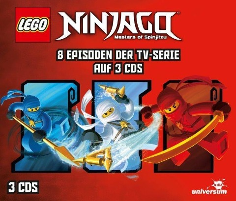 LEGO® Ninjago Hörspielbox 1 -
