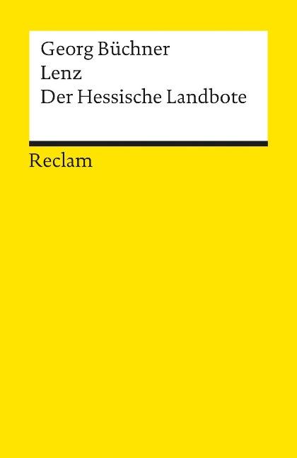 Lenz / Der hessische Landbote - Georg Büchner