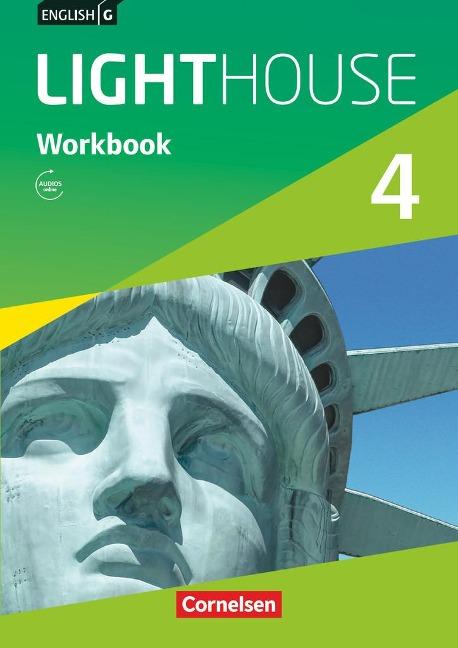 English G LIGHTHOUSE 04: 8. Schuljahr. Workbook mit Audios online - Gwen Berwick, Sydney Thorne