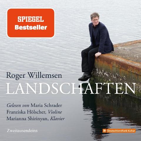 Roger Willemsen - Landschaften - Roger Willemsen, Franziska Hölscher, Marianna Shirinyan