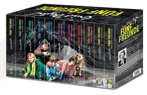 Fünf Freunde - Sammeledition. Alle 21 original Abenteuer im Schmuckschuber - plus acht Kurzgeschichten!