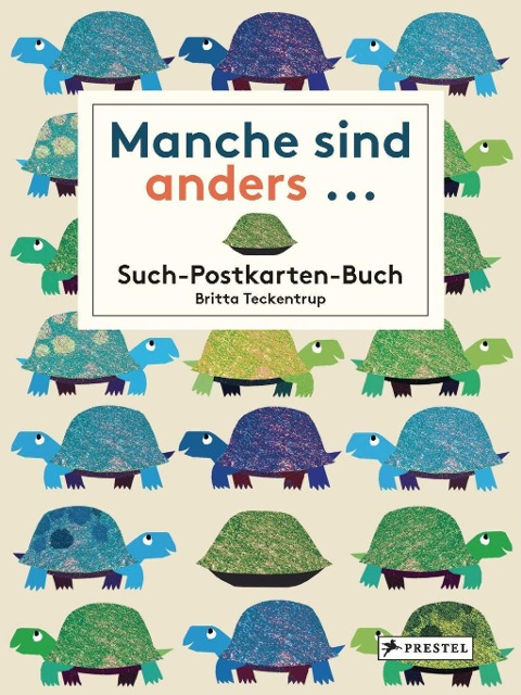 Manche sind anders... Postkarten-Buch - Britta Teckentrup