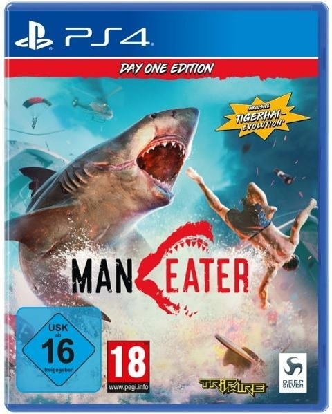 Maneater Day One Edition (PlayStation PS4) -