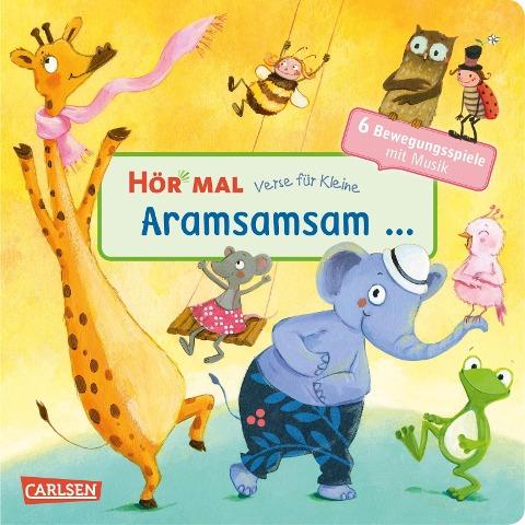 Hör mal (Soundbuch): Verse für Kleine: Aramsamsam -