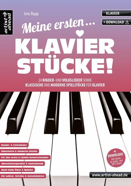 Meine ersten Klavierstücke! - Jens Rupp