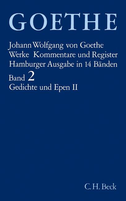 Gedichte und Epen II -