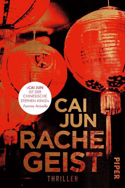 Rachegeist - Cai Jun