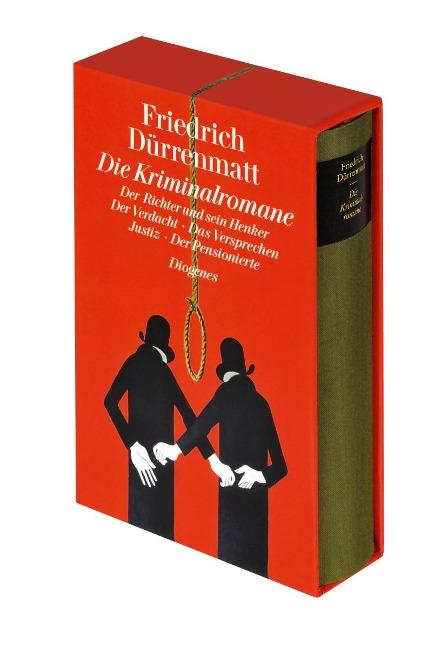 Die Kriminalromane - Friedrich Dürrenmatt