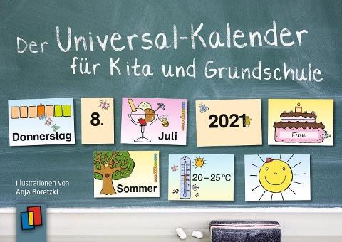 Der Universal-Kalender für Kita und Grundschule, 2021 - Redaktionsteam Verlag an der Ruhr