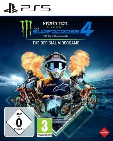Monster Energy Supercross - The Official Videogame 4 (PlayStation PS5) -