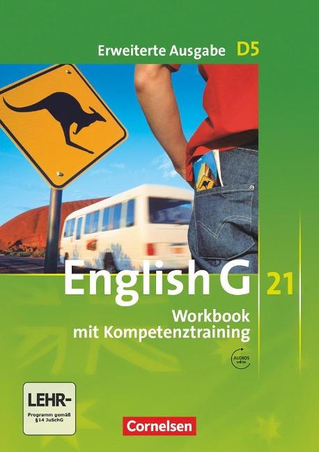 English G 21. Erweiterte Ausgabe D 5. Workbook Workbook mit Audios online - Jennifer Seidl