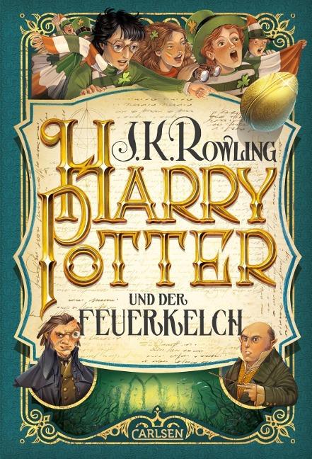 Harry Potter 4 und der Feuerkelch - J. K. Rowling