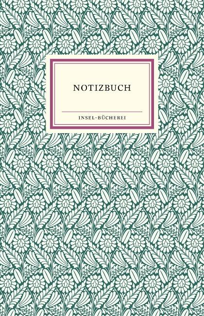 Insel-Bücherei Notizbuch -