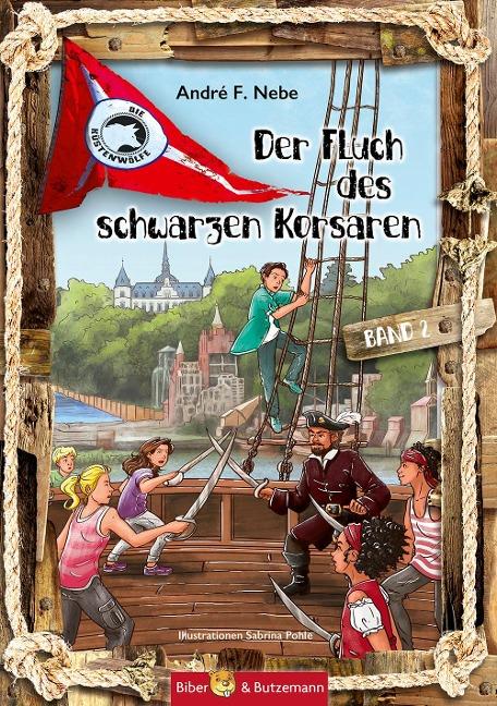 Der Fluch des Schwarzen Korsaren Bd.2 - André F. Nebe