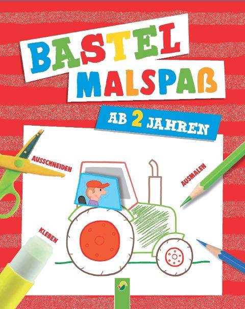 Bastel-Malspaß für Kinder ab 2 Jahren -