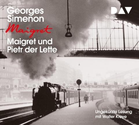 Maigret und Pietr der Lette - Georges Simenon