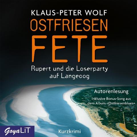 Ostfriesenfete - Klaus-Peter Wolf